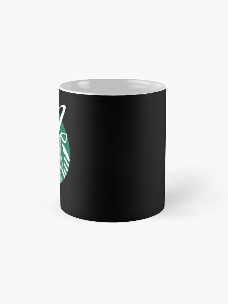 Alternate view of Krampuspresso - Caffeine Demon (BLACK) Mug