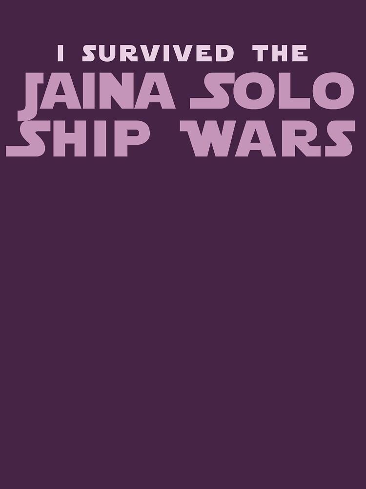 I Survived the Jaina Solo Ship Wars by houseorgana