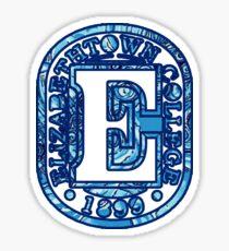 Elizabethtown College Sticker
