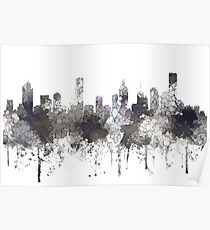 Melbourne, Victoria, Australia Skyline - CRISP Poster