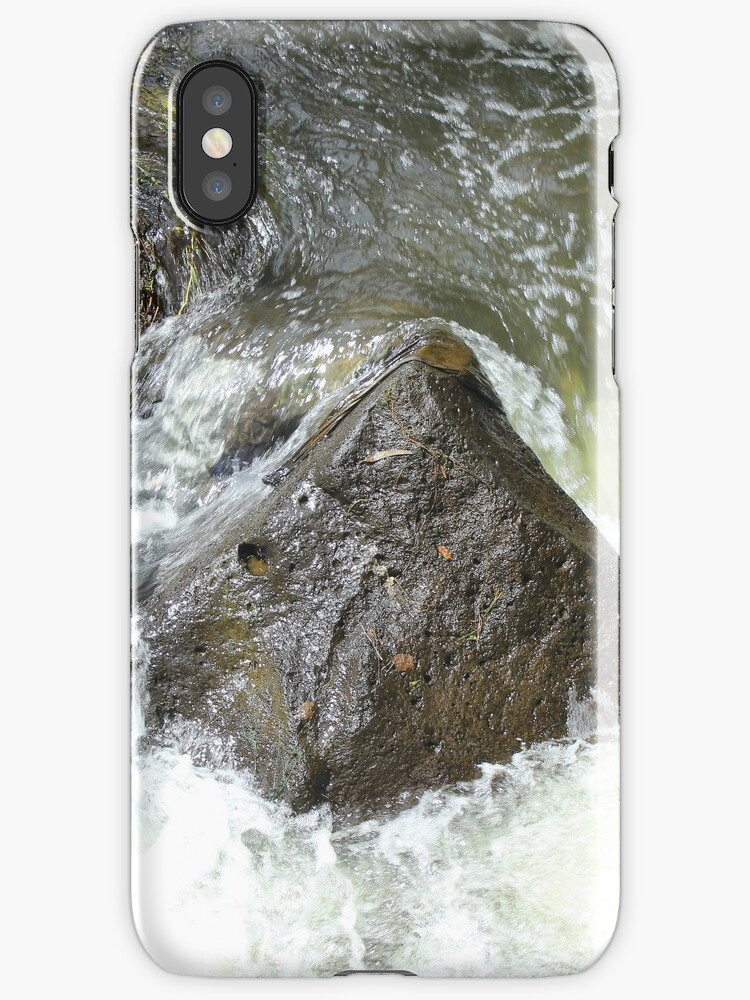 Rock in a River by rhamm