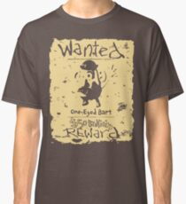 Wanted - One-Eyed Bart Classic T-Shirt