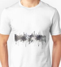 Gold Coast, Queensland, Australia Skyline - CRISP Unisex T-Shirt