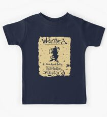 Wanted - One-Eyed Betty Kids Tee