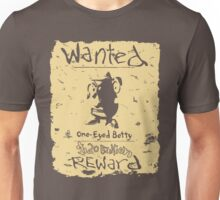 Wanted - One-Eyed Betty Unisex T-Shirt