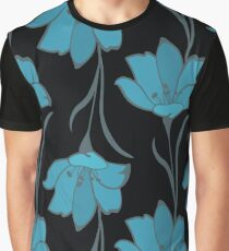 Seamless Flower  Buttercup  Pattern. Summer background garden Graphic T-Shirt