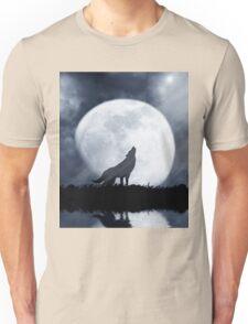Wolf Moon Unisex T-Shirt