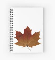 Leaf  Spiral Notebook