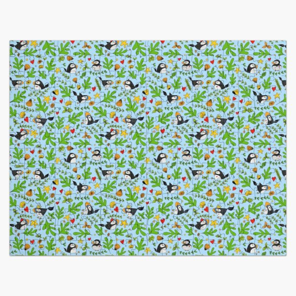 Puffins Playground Jigsaw Puzzle