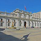 La Moneda Palace by Graeme  Hyde