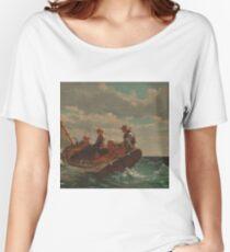 Winslow Homer - Breezing Up A Fair Wind  Women's Relaxed Fit T-Shirt