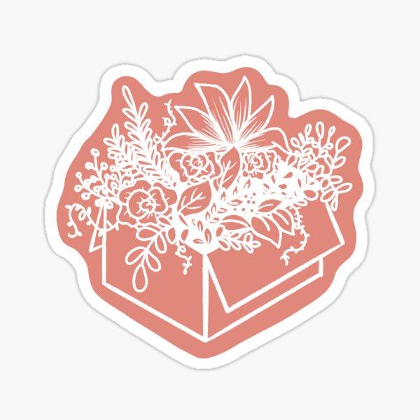 Blumenkiste Sticker
