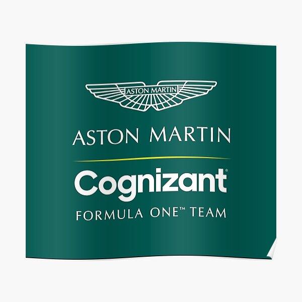 Aston Martin Cognizant F1 Team  Poster