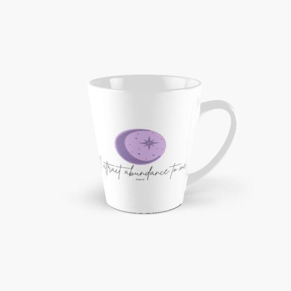 Manifest It! Abundance Moon Purple Tall Mug