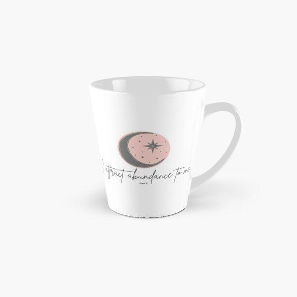 Manifest It! Abundance Moon Pink Tall Mug
