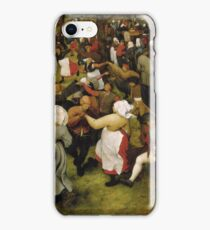 Pieter Bruegel the Elder - The Wedding Dance iPhone Case/Skin