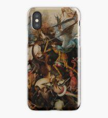 Pieter Bruegel the Elder - The Fall of the Rebel Angels iPhone Case/Skin