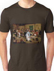 Pieter Bruegel the Elder - Peasant Wedding 1569 Unisex T-Shirt