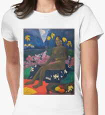 Paul Gauguin - The Seed of the Areoi  Womens Fitted T-Shirt