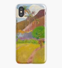 Paul Gauguin - Tahitian Landscape  iPhone Case/Skin
