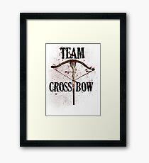 Team Crossbow Framed Print