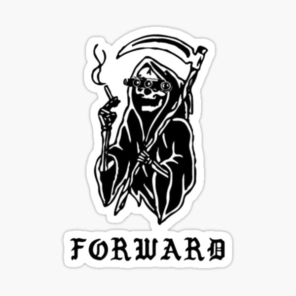 Forward Observations Sticker