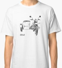 Russian Ural sidecar motorcycle Classic T-Shirt
