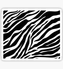 Zebra Pattern Sticker