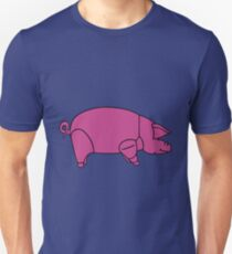 Pink Floyd Animals Pig (traditional colour) T-Shirt