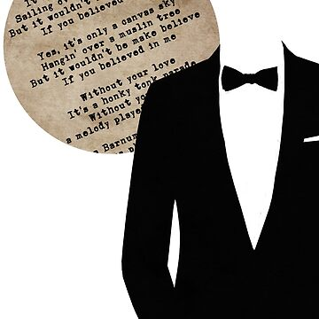 Paper Moon Tuxedo by AFFPrints