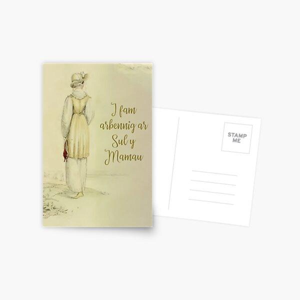 I fam arbennig ar Sul y Mamau Postcard