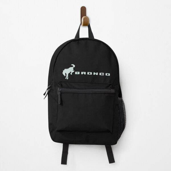 Cactus Gray Ford Bronco Logo Backpack
