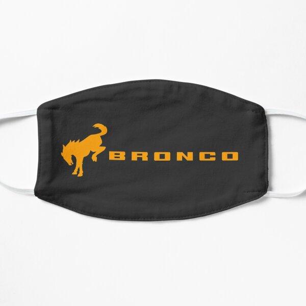 Cyber Orange Ford Bronco Logo Flat Mask
