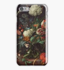 Jan Davidsz de Heem - Vase of Flowers , Flowers , Bouquet of Flowers , Love , Kiss  iPhone Case/Skin