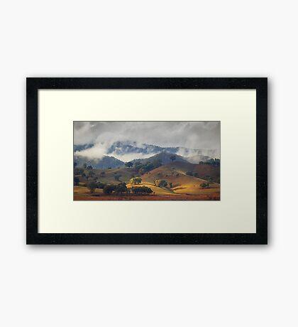 Hillside at Gough's Bay Framed Print