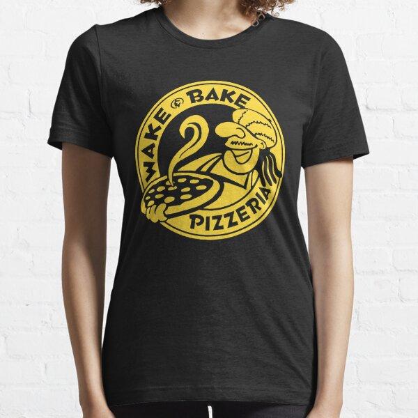 Wake & Bake Pizzaria Essential T-Shirt