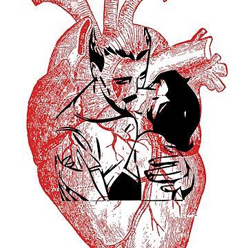 A Hearty Kiss by hazelbasil