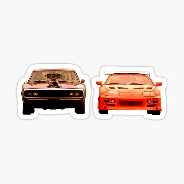 Two Brothers Sticker