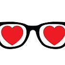 Heart Glasses - icon by hazelbasil