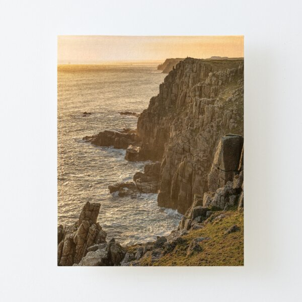 Sunset at Gwennap Head, Cornwall Canvas Mounted Print