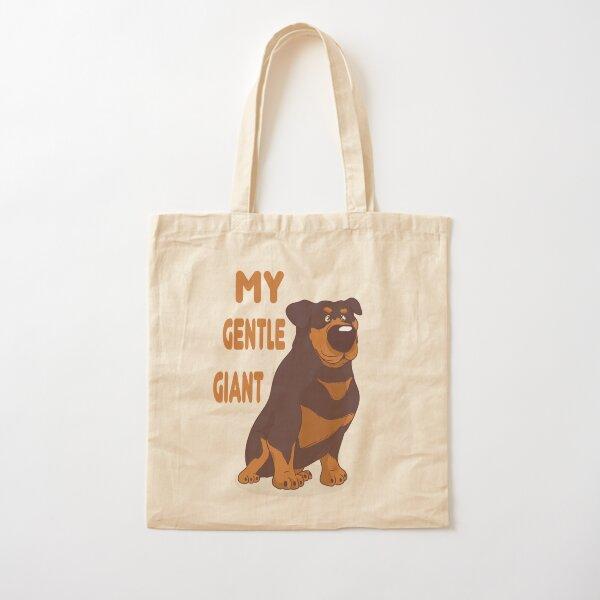 Gentle Giant Duvet Covers Adopt A Dog Big Dogs Dog Slogan Funny Dog Ilovemydog Cotton Tote Bag