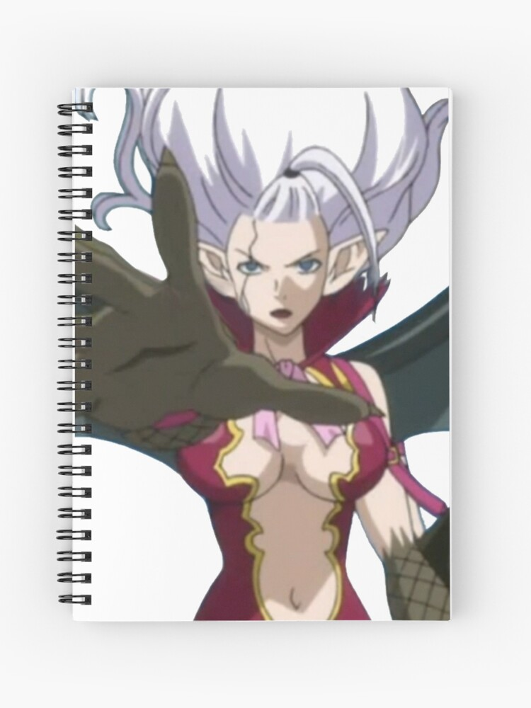 Fairy Tail Mirajane Spiral Notebook By Doomwolf Redbubble You can read it in manga rock! redbubble