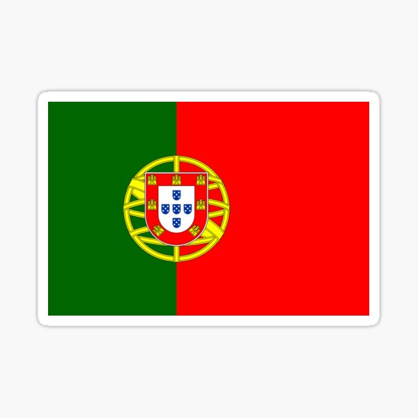 Portugal / Drapeau portugais Sticker