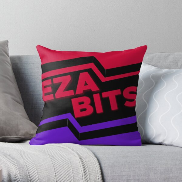 EZA Bits Throw Pillow