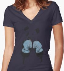 The winner Women's Fitted V-Neck T-Shirt