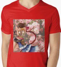 Final Fantasy Yuna Men's V-Neck T-Shirt