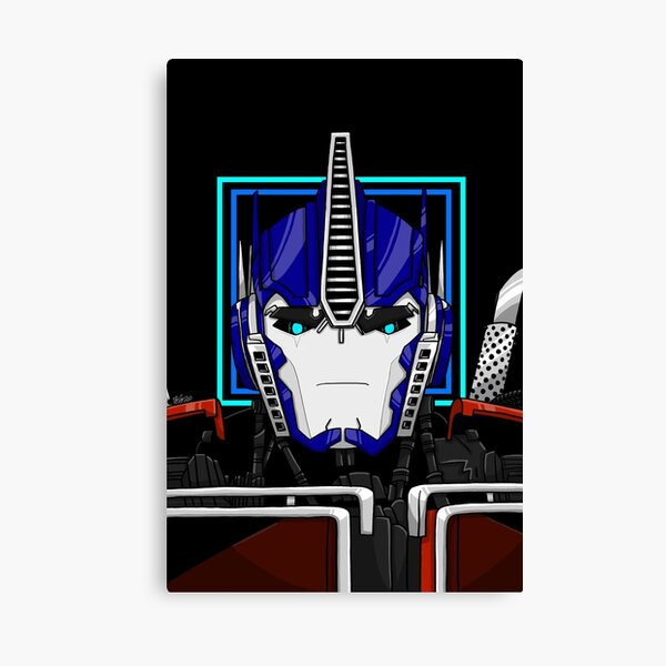 Optimus Prime - Transformers Prime - Shapes and Things Canvas Print