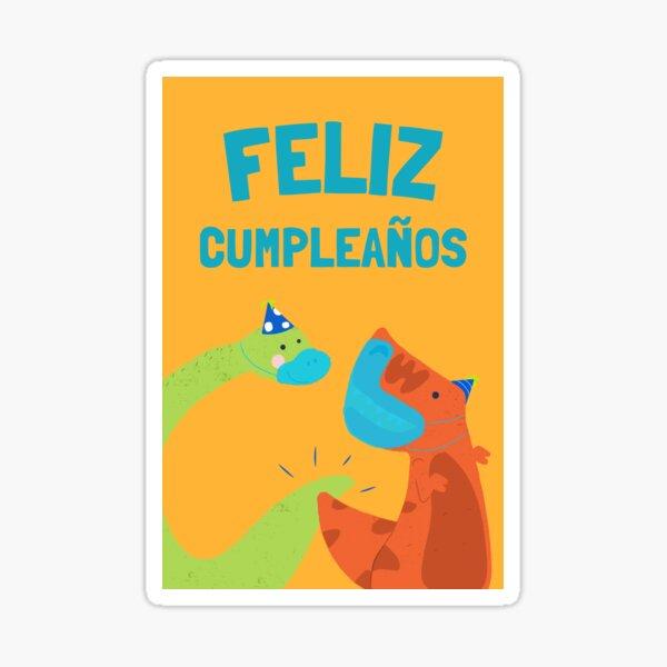 Feliz cumpleaños Pegatina