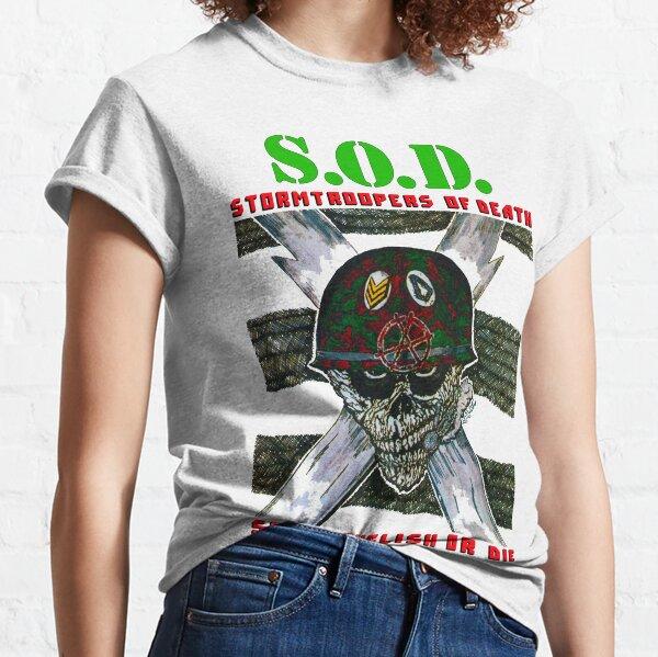 S.O.D. - Speak English Classic T-Shirt