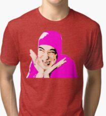 pinkguy.exe - ONE:Print Tri-blend T-Shirt